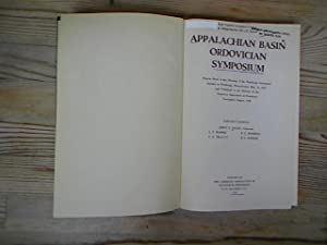 Appalachian basin ordovician symposium. Papers read at: Galey, John T.