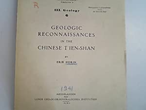 Geologic reconnaissances in the Chinese T'ien-Shan. Reports: Norin, Erik Stephan,