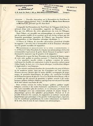 Nouvelles observations sur le Précambrien du Nord-Ouest: Bertrand, Jean Michel