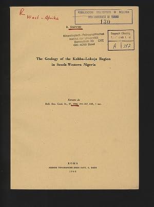 The Geology of the Kabba-Lokoja Region in: Sacchi, Rosalino: