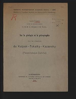 Sur la géologie et la pétrographie de: Duparc, Louis,