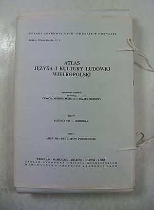 Atlas jezyka i kultury ludowej Wielkopolski. Tom: Sobierajski, Zenon und