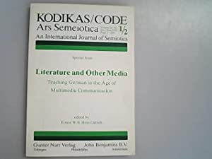Literature and other media : teaching German: Hess-Lüttich, Ernest W.B.,