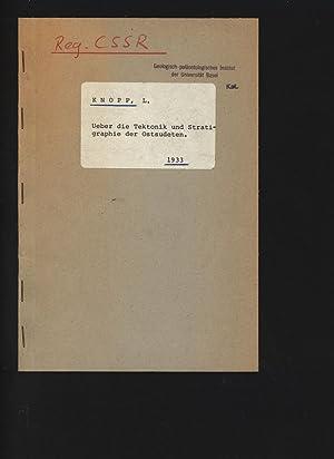 Ueber die Tektonik und Stratigraphie der Ostsudeten.: KNOPP, L.: