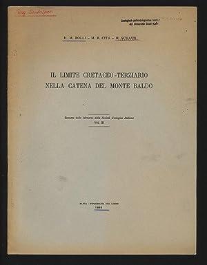 Il limite cretaceo-terziario nella Catena del Monte: Bolli, H. M.,