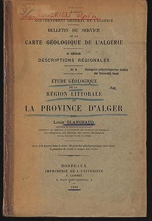 BULLETIN Dü SERVICE DE LA CARTE GEOLOGIQUE: Glangeaud, Louis,