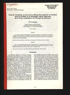 Essai de correlations au Lias moyen (Sinemurien: Meister, Christain,