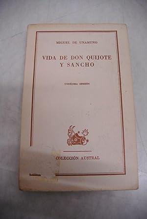 Vida de Don Quijote y Sancho.: Unamuno, Miguel de,