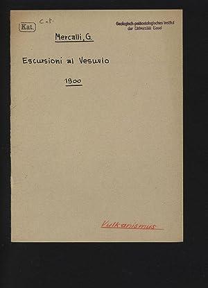 Escursioni al Vesuvio.: Mercalli, Giuseppe,