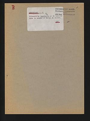Présence de magnésite et de huntite dans: PERTHUISOT , J.
