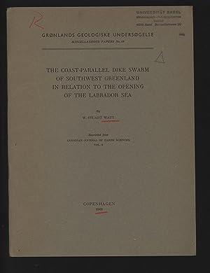 THE COAST-PARALLEL DIKE SWARM OF SOUTHWEST GREENLAND: WATT , W.