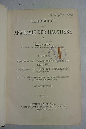 vergleichende anatomie der - First Edition - AbeBooks