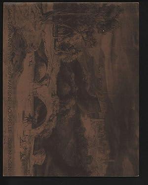 CARL ROTTMANN. 1797-1850. KARTONS, AQUARELLE, ZEICHNUNGEN .: Strieder, Barbara [Bearb.]