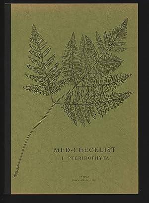 MED-CHECKLIST. I. PTERIDOPHYTA: Greuter, W. [Ed.],