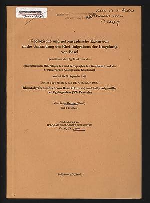 Rheintalgraben südlich von Basel (Dorneck) und Adlerhofgewölbe: HERZOG, Peter: