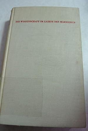 Die Wissenschaft im Lichte des Marxismus. Versuche.: Wallon, Henri, Marcel