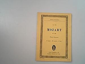 Quartet D major for flute, violin, viola: Mozart, Wolfgang Amadeus,