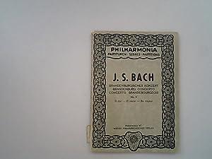 Concerto no. 5, D dur, D major,: Bach, J.S., Karl