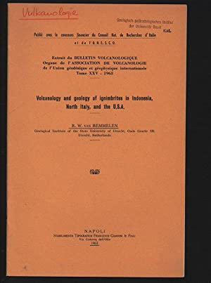 Volcanology and geology of ignimbrites in Indonesia,: VAN BEMMELEN ,