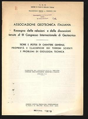 TEORIE E IPOTESI DI CARATTERE GENERALE, PROPRIETA: PENTA, Francesco: