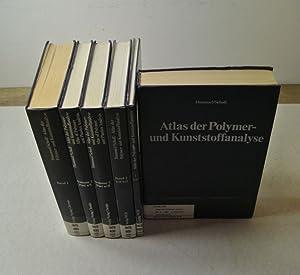 Atlas der Polymer- und Kunststoffanalyse. = Altlas of Polymer and Plastics Analysis. 3 Bände (in 6,...
