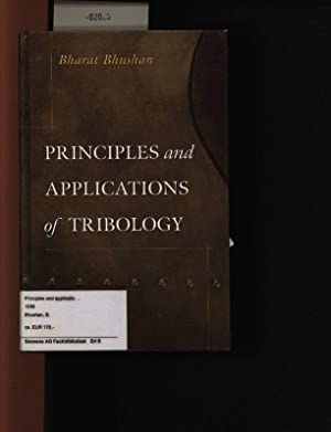 Principles and applications of tribology. .: Bhushan, Bharat: