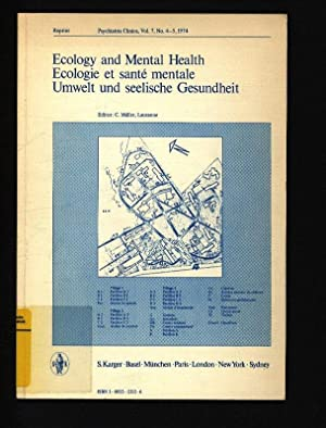 Ecology and mental health. = Ecologie et: Müller, Christian: