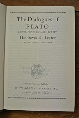 The Dialogues of Plato. - The Seventh: Plato and Robert