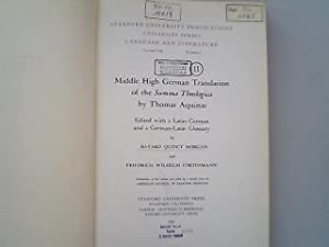 Middle High German translation Summa theologica - AbeBooks