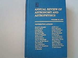 Annual Review of Astronomy and Astrophysics: Volume: Burbidge, Geoffrey, Allan
