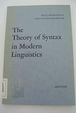 The Theory of Syntax in Modern Linguistics.