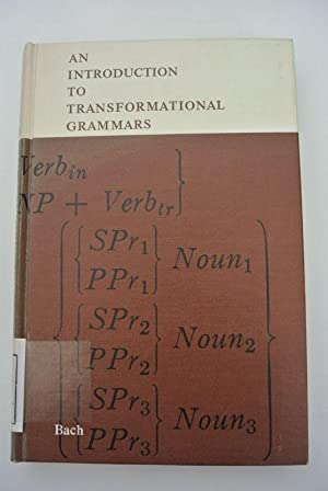 An Introduction to Transformational Grammars.