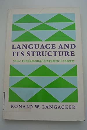 Language And Its Structure.