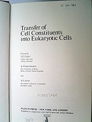 Transfer of Cell Constituents into Eukaryotic Cells (= Nato Science Series A:)