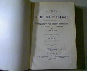 Die unaspirierten Tenues des Holländischen, in: ARKIV FÖR NORDISK FILOLOGI (42) 1926: ...