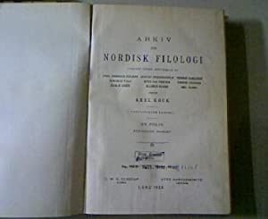 Zwei angebliche Fälle von Wortspaltung, in: ARKIV FÖR NORDISK FILOLOGI (44) 1928: Genzmer...