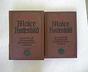 Handbuch der gesamten Handelswissenschaften. Bände 1 und 2 (komplett!) Für jüngere ...