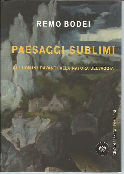 Paesaggi Sublimi: Gli uomini davanti alla natura Selvaggia - Bodei, Remo