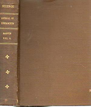 """Journal of Researches, in """"A Library of: Darwin, Charles"""