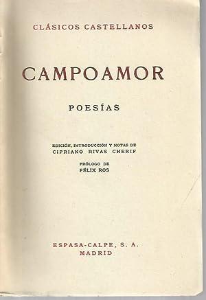 Poesias (Clasicos Castellanos, 1966): Campoamor, [Ramon de]
