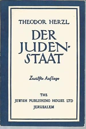 Der Judenstaat (Zwolfte Auflage): Herzl, Theodore
