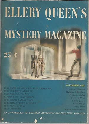 Ellery Queen's Mystery Magazine: Volume 3, Number 5 (November 1942): Queen, Ellery (ed.)