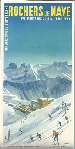 Rochers de Naye Sur Montreux 2045m - 6700 Feet: A. Trub & Cie