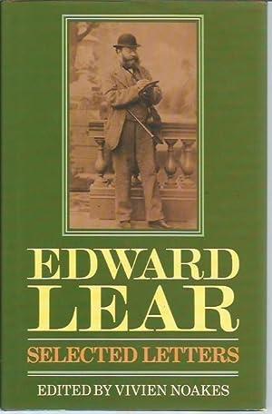 Edward Lear: Selected Letters: Lear, Edward; Vivien