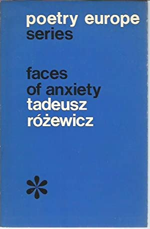 Faces of Anxiety (Poetry Europe Series 12)