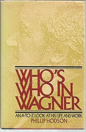 Wagner His Works Abebooks