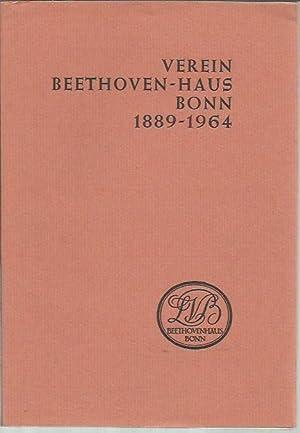 Verein Beethoven-Haus Bonn 1889-1904: Herbert Grundmann (ed.)