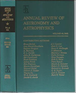 Annual Review of Astronomy and Astrophysics, Volume: Burbridge, Geoffrey; Sandage,