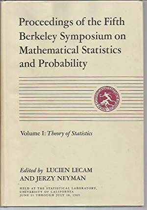 Proceedings of the Fifth Berkeley Symposium on Mathematical Statistics and Probability (Berkeley ...