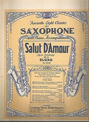 Salut D'Amour (Love's Greeting (Favorite Light Classics: Elgar, Edward; Calvin
